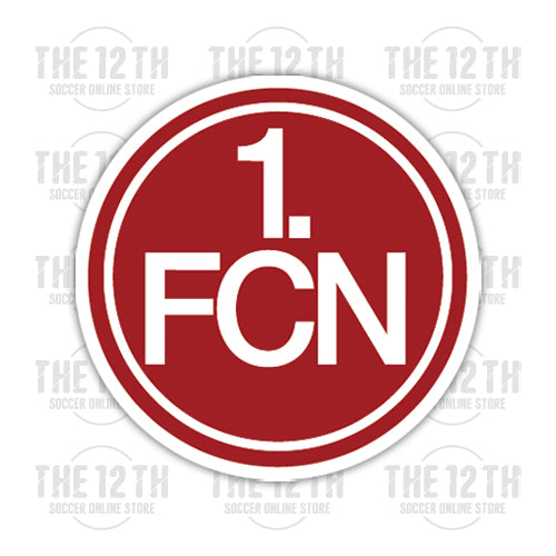 FC Nurnberg Removable Vinyl Sticker Decal - 12 Soccer Tee