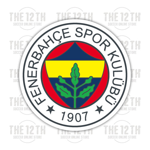 Fenerbahce S.K. Removable Vinyl Sticker Decal - 12 Soccer Tee