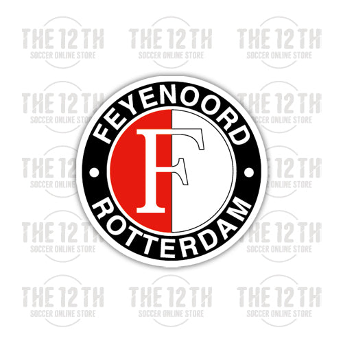 Feyenoord Rotterdam Removable Vinyl Sticker Decal - 12 Soccer Tee