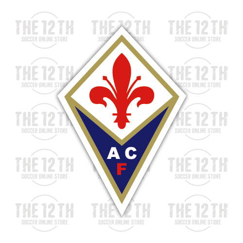 ACF Fiorentina Removable Vinyl Sticker Decal - 12 Soccer Tee