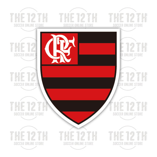 Clube de Regatas do Flamengo Removable Vinyl Sticker Decal - 12 Soccer Tee