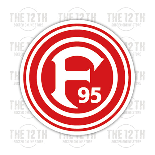 Fortuna Dusseldorf Removable Vinyl Sticker Decal - 12 Soccer Tee
