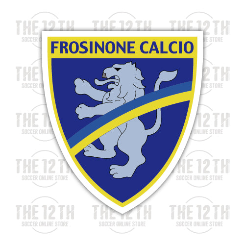 Frosinone Calcio Removable Vinyl Sticker Decal - 12 Soccer Tee