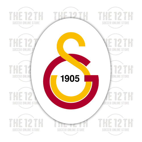 Galatasaray S.K. Removable Vinyl Sticker Decal - 12 Soccer Tee