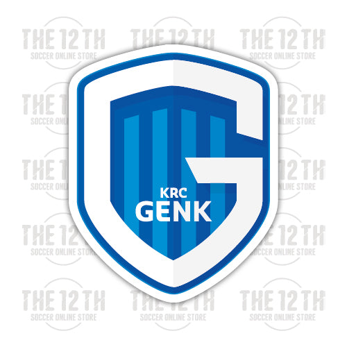 K.R.C. Genk Removable Vinyl Sticker Decal - 12 Soccer Tee