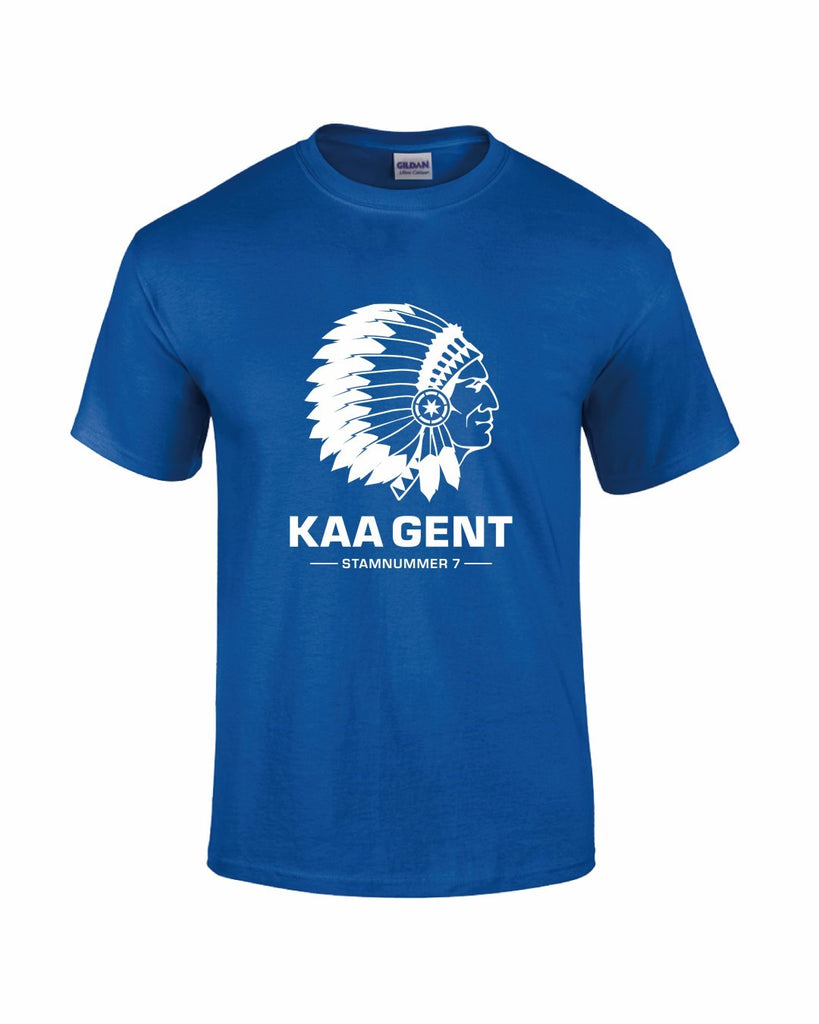 Gent T-Shirt - Blue - Mens