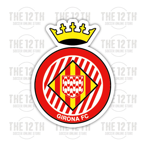 Girona FC Removable Vinyl Sticker Decal - 12 Soccer Tee
