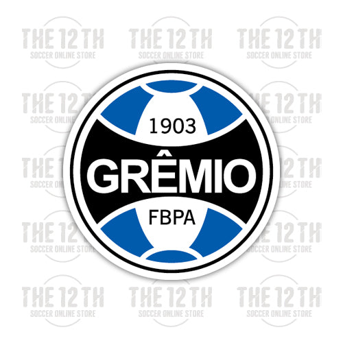 Gremio Football Porto Alegrense Removable Vinyl Sticker Decal - 12 Soccer Tee