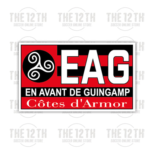 En Avant de Guingamp Removable Vinyl Sticker Decal - 12 Soccer Tee