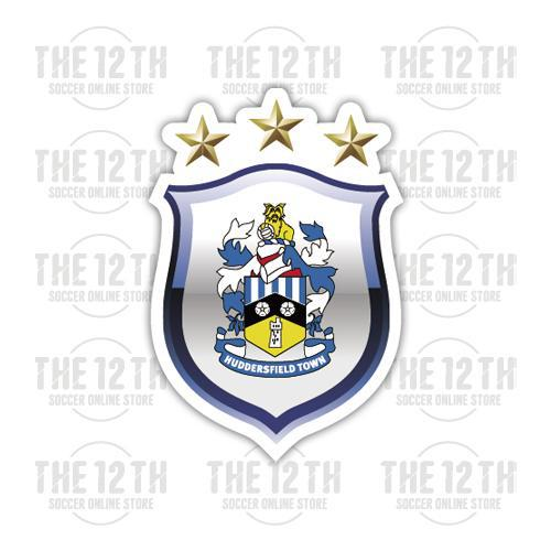 Huddersfield Town Removable Vinyl Sticker Decal - 12 Soccer Tee