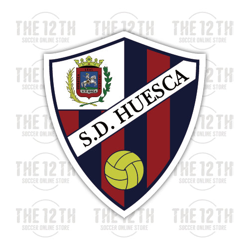 SD Huesca Removable Vinyl Sticker Decal - 12 Soccer Tee