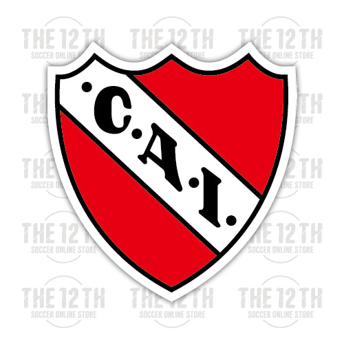 Club Atletico Independiente Removable Vinyl Sticker Decal - 12 Soccer Tee