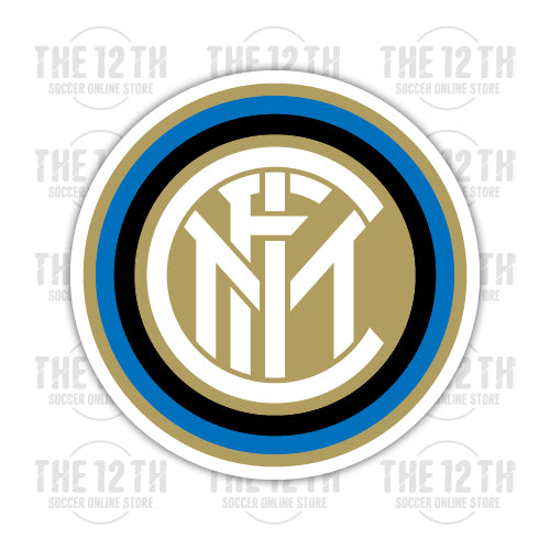 Inter Milan Removable Vinyl Sticker Decal - 12 Soccer Tee