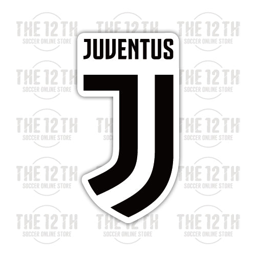 Juventus F.C. Removable Vinyl Sticker Decal - 12 Soccer Tee