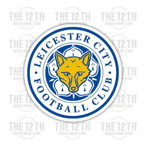 Leicester City Removable Vinyl Sticker Decal - 12 Soccer Tee