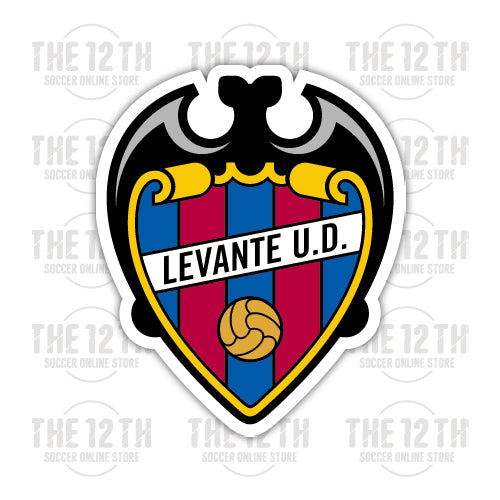 Levante UD Removable Vinyl Sticker Decal - 12 Soccer Tee