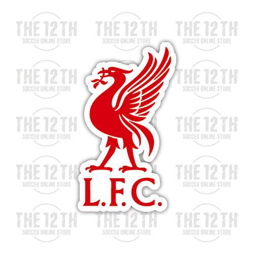 Liverpool Removable Vinyl Sticker Decal - 12 Soccer Tee