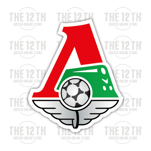 FC Lokomotiv Moskva Removable Vinyl Sticker Decal - 12 Soccer Tee