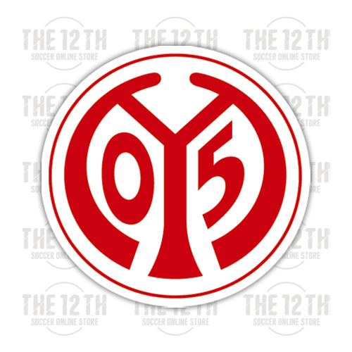 FSV Mainz 05 Removable Vinyl Sticker Decal - 12 Soccer Tee