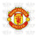 Manchester United Removable Vinyl Sticker Decal
