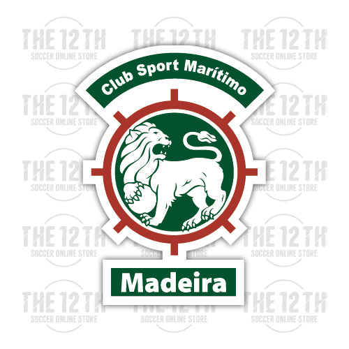 C.S. Maritimo Removable Vinyl Sticker Decal - 12 Soccer Tee