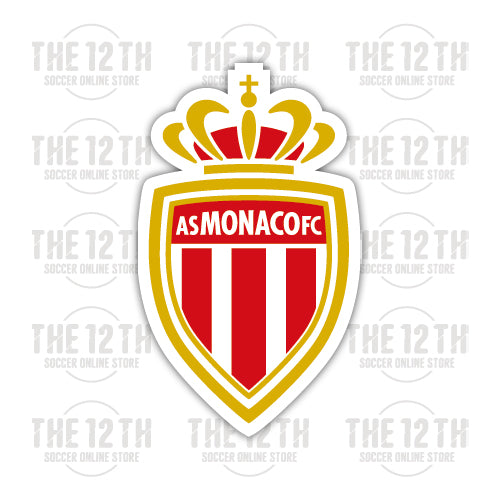 AS Monaco FC Removable Vinyl Sticker Decal - 12 Soccer Tee