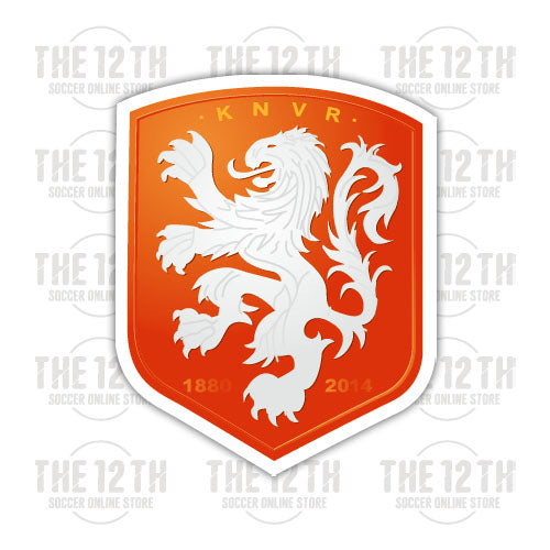 Netherlands Removable Vinyl Sticker Decal - 12 Soccer Tee