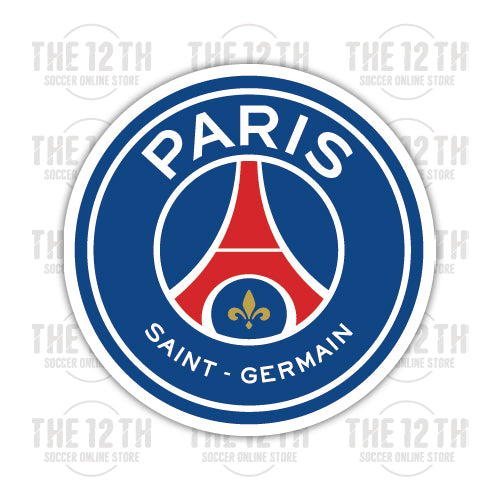 PSG Paris Saint-Germain F.C. Removable Vinyl Sticker Decal - 12 Soccer Tee