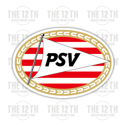 PSV Eindhoven Removable Vinyl Sticker Decal - 12 Soccer Tee