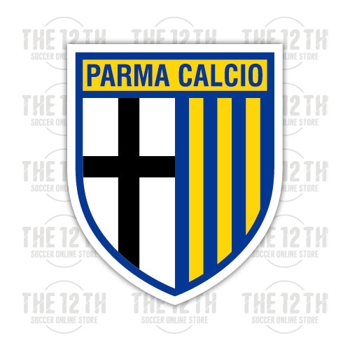 Parma Calcio 1913 Removable Vinyl Sticker Decal - 12 Soccer Tee