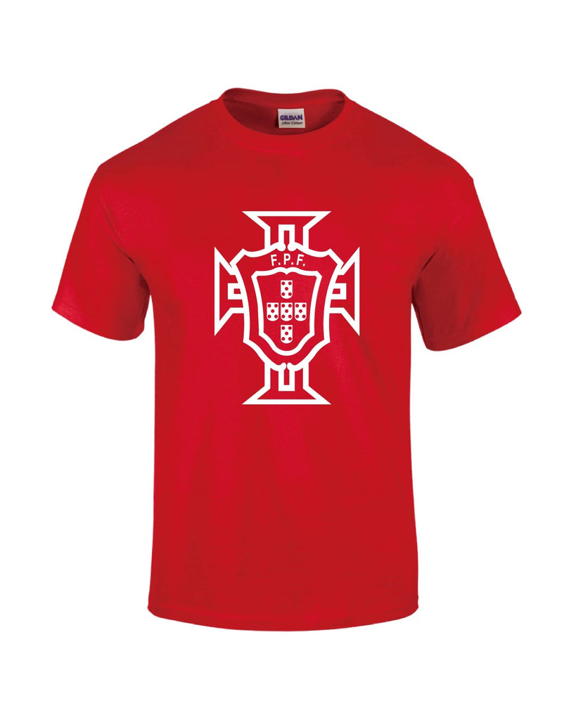 Portugal T-Shirt - Red - Mens