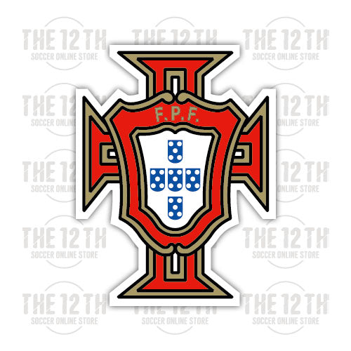 Portugal Removable Vinyl Sticker Decal - 12 Soccer Tee