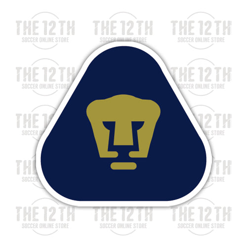Pumas UNAM Removable Vinyl Sticker Decal - 12 Soccer Tee