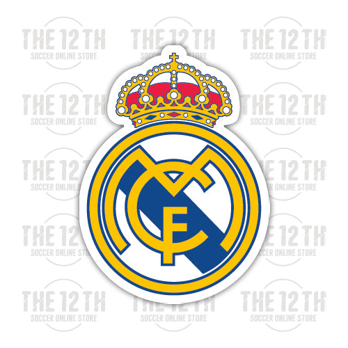 Real Madrid C.F. Removable Vinyl Sticker Decal - 12 Soccer Tee