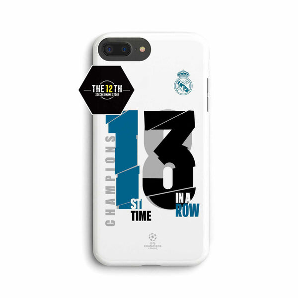 Real Madrid 2018 13 UCL Champions Phone Case