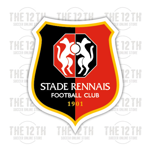 Stade Rennais F.C. Removable Vinyl Sticker Decal - 12 Soccer Tee