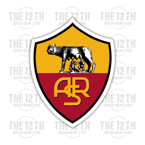 A.S. Roma Removable Vinyl Sticker Decal - 12 Soccer Tee