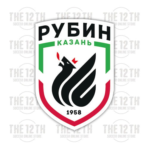 FC Rubin Kazan Removable Vinyl Sticker Decal - 12 Soccer Tee