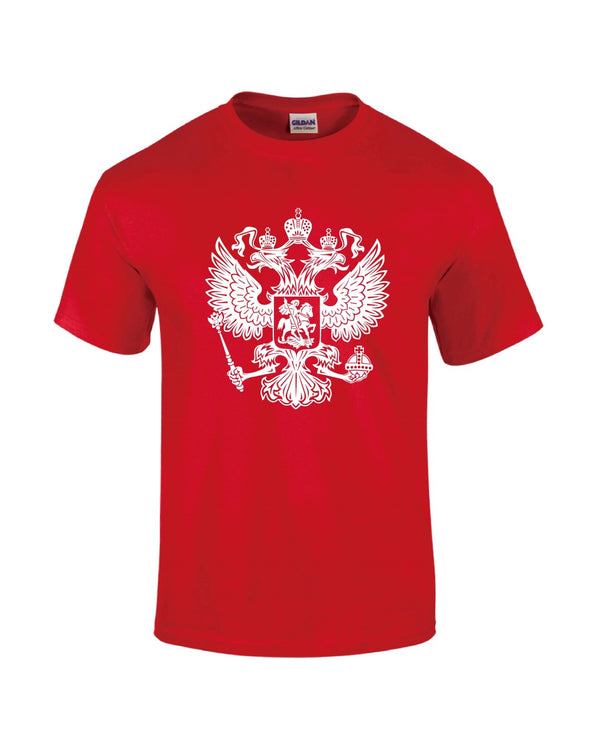 Russia T-Shirt - Red - Mens