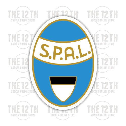 S.P.A.L. Removable Vinyl Sticker Decal - 12 Soccer Tee