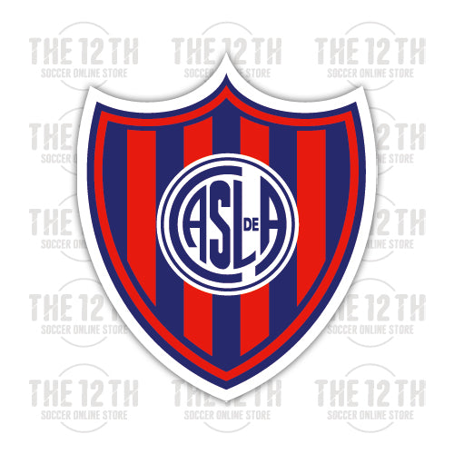 San Lorenzo de Almagro Removable Vinyl Sticker Decal - 12 Soccer Tee