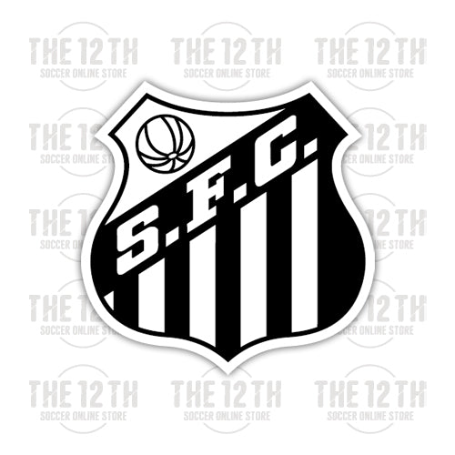 Santos FC Removable Vinyl Sticker Decal - 12 Soccer Tee