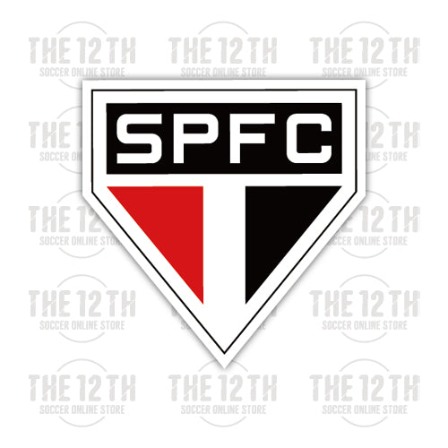 Sao Paulo FC Removable Vinyl Sticker Decal - 12 Soccer Tee