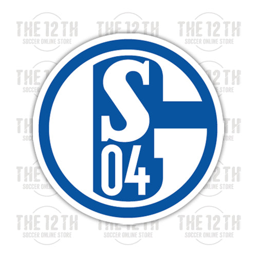 Schalke 04 Removable Vinyl Sticker Decal - 12 Soccer Tee
