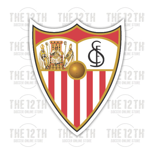 Sevilla FC Removable Vinyl Sticker Decal - 12 Soccer Tee