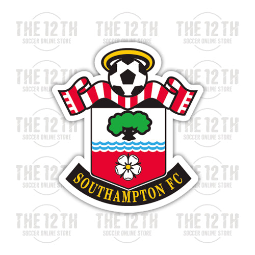 Southampton Removable Vinyl Sticker Decal - 12 Soccer Tee