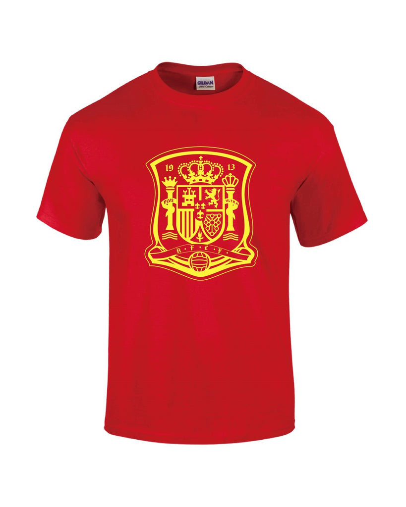 Spain T-Shirt - Red - Mens