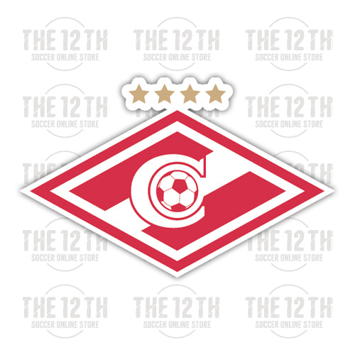 FC Spartak Moskva Removable Vinyl Sticker Decal - 12 Soccer Tee