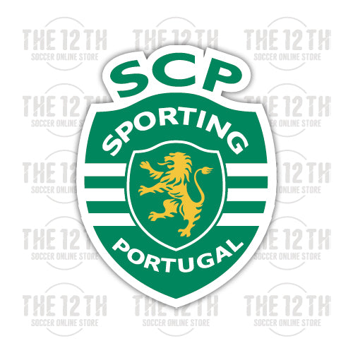 Sporting CP Removable Vinyl Sticker Decal - 12 Soccer Tee
