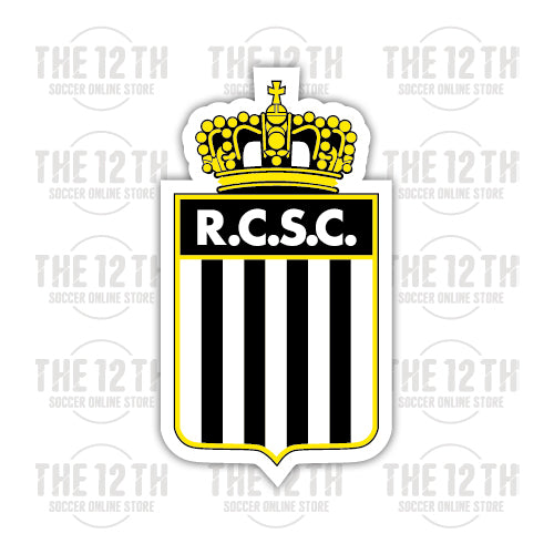 R. Charleroi S.C. Removable Vinyl Sticker Decal - 12 Soccer Tee